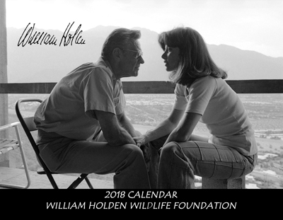 William Holden Wildlife Foundation Stefanie Powers William Holden Calendar