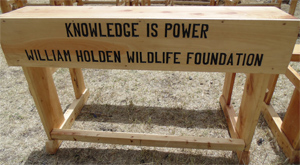 William Holde Wildlife Foundation Adopt A Desk
