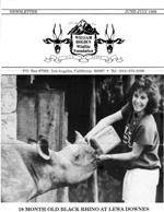 WHWF Newsletter Archives